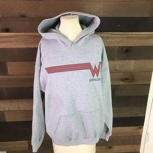 Vintage Weezer 1995 tour hoodie men's large